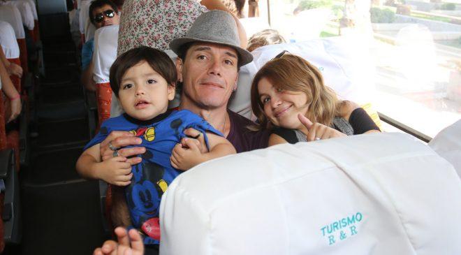 Desde Huechuraba doce familias viajan para disfrutar sus vacaciones gracias a programa Turismo Familiar de Sernatur