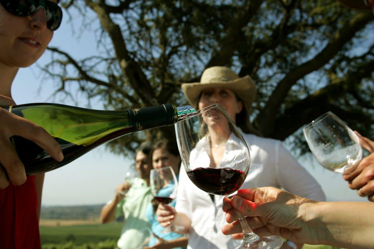 Si a Chile vino y se fue sin tomar Vino…a que Vino?