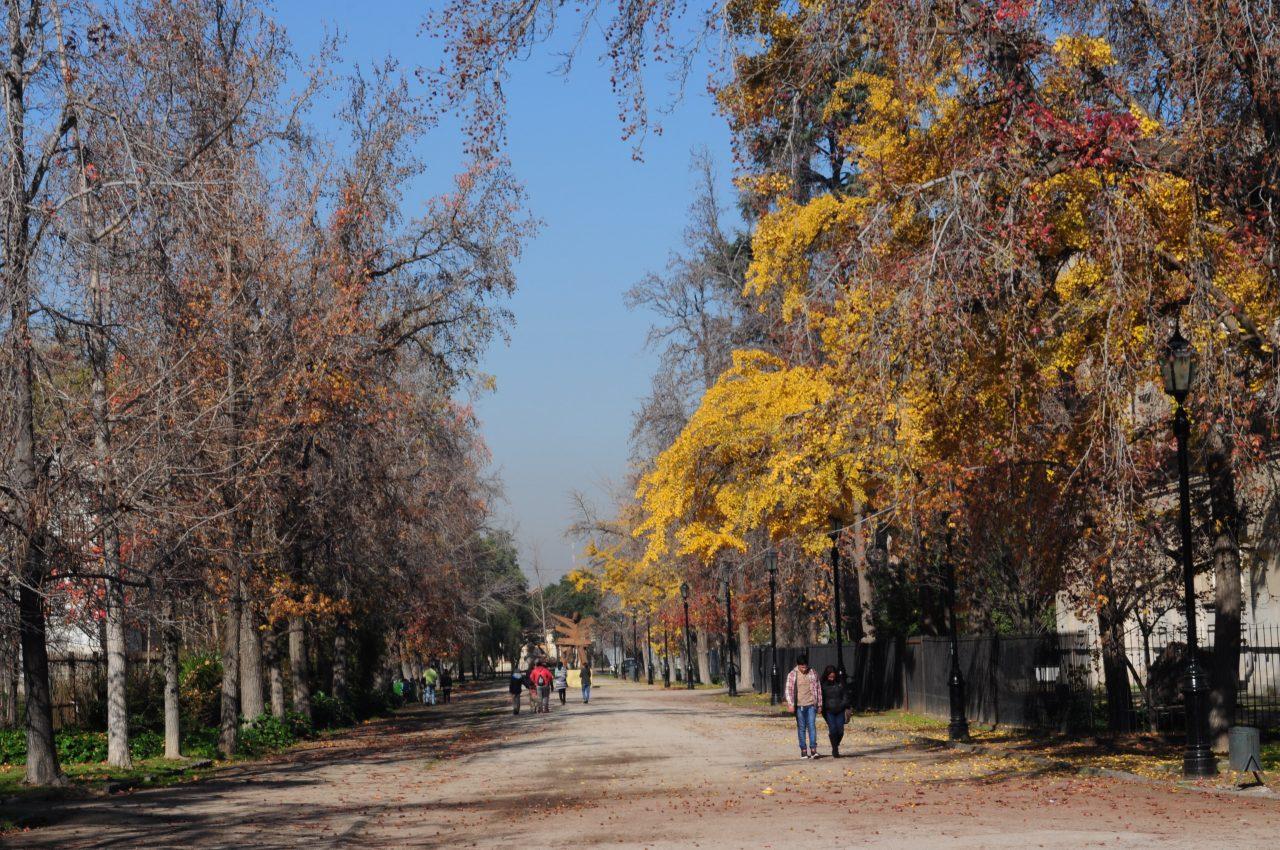 Caminando por la Quinta Normal