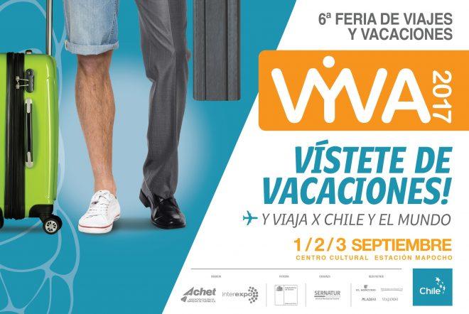 Feria VYVA 2017: Planifica tus próximas vacaciones por Chile