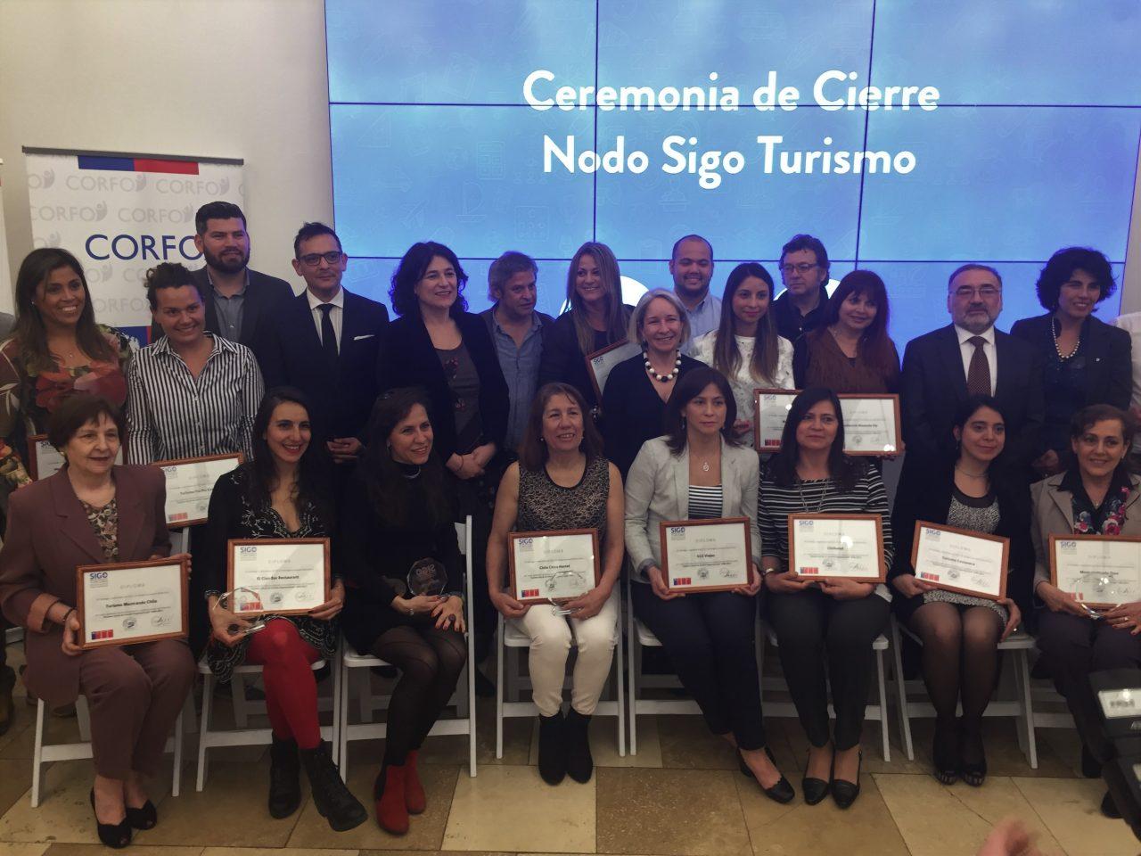 Empresarios turísticos de la región reciben su certificación NODO SIGO Turismo