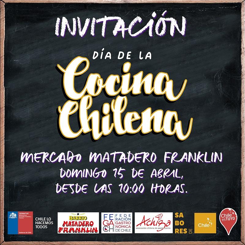 Día de la Cocina Chilena: Barrio Franklin se luce con muestra gastronómica
