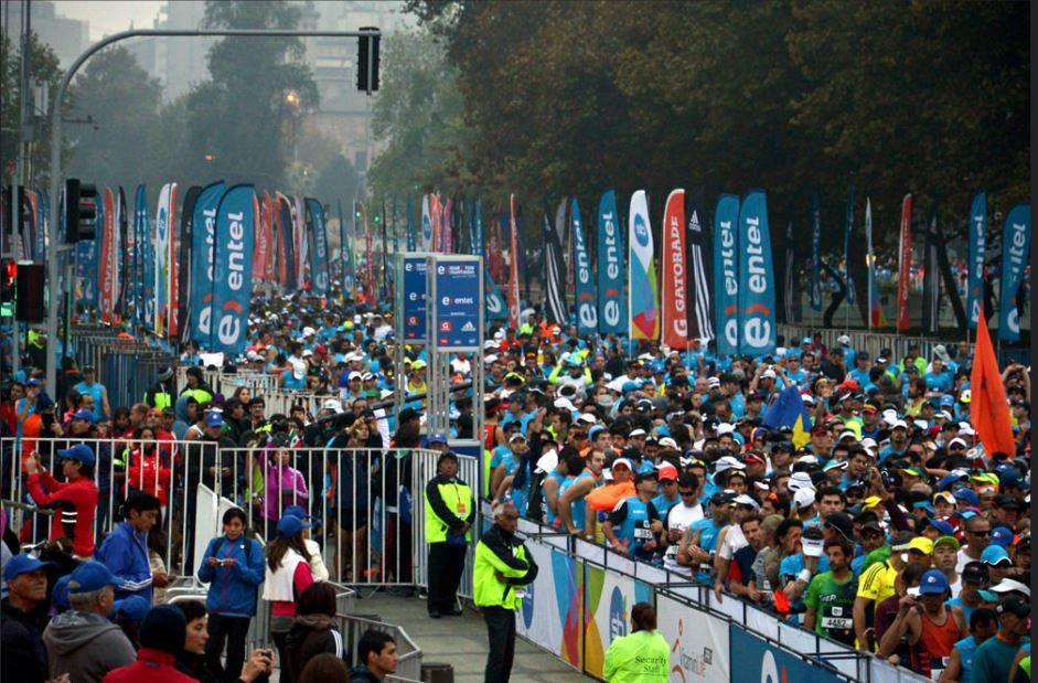 Nueva versión del Maratón de Santiago con mirada social