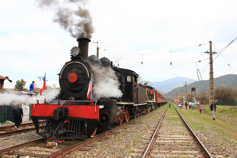 Expo Catam de El Monte sorprende con inédito viaje en locomotora.