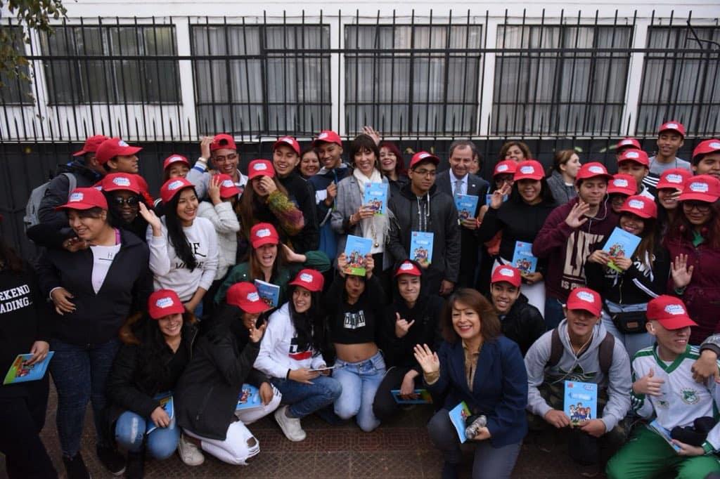 Ministro de Educación y subsecretaria de Turismo lanzan programa Gira de Estudio 2018