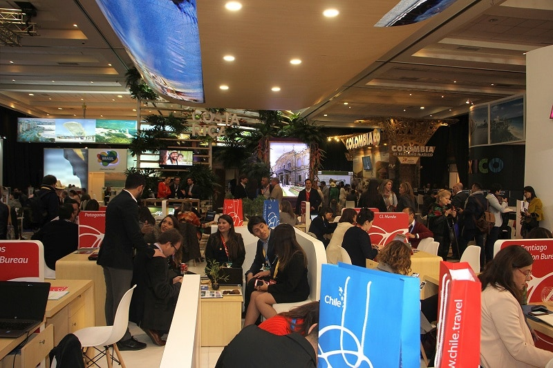 Chile se transforma en vitrina turística de 17 países de Latinoamérica