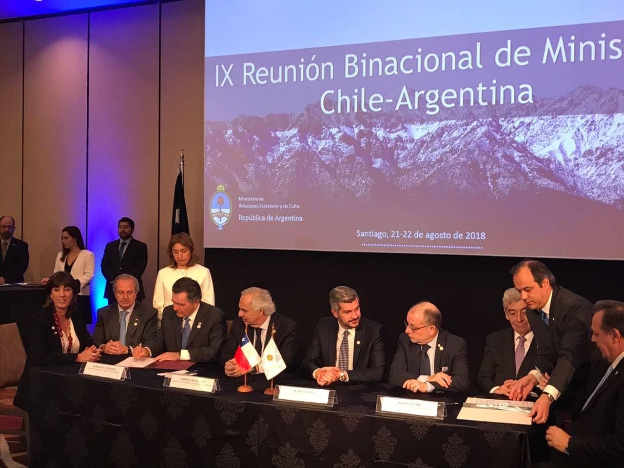 Chile y Argentina firman acuerdo de reconocimiento  de visas para turistas de China