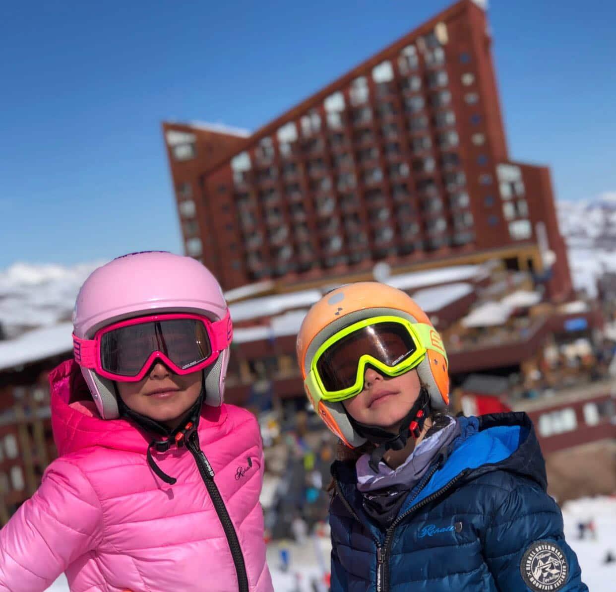 Este fin de semana todos los niños esquían gratis en Valle Nevado