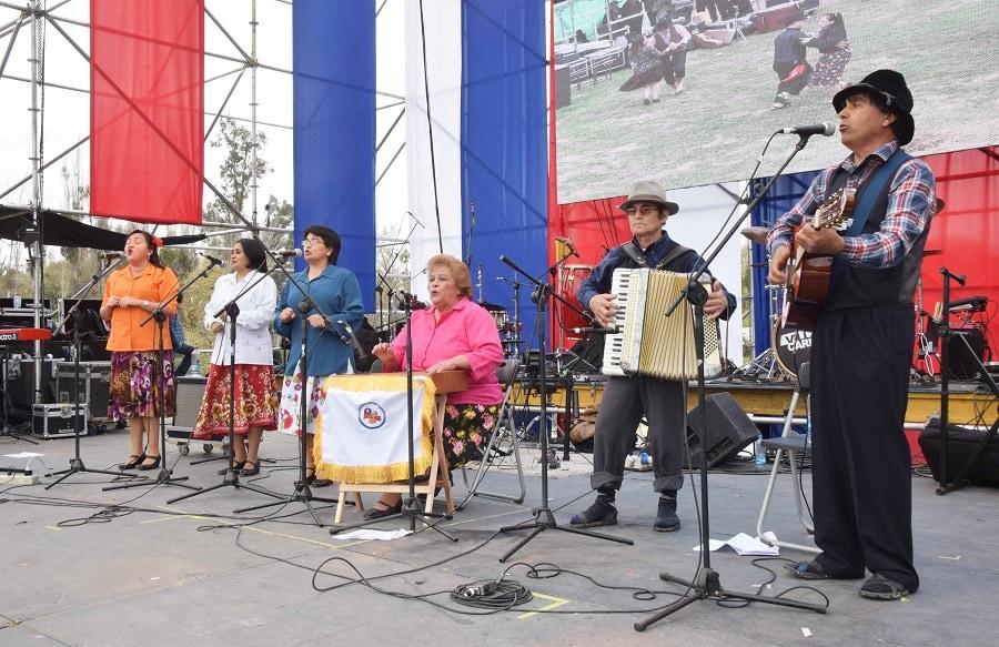 Las Fiestas Patrias se viven en Santiago