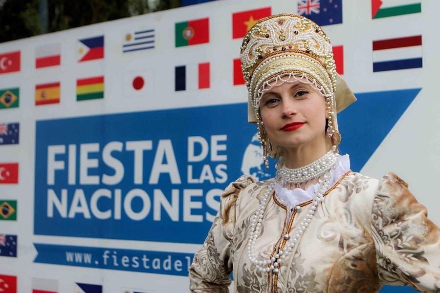 Países de todo el mundo se juntan en la Fiesta de Las Naciones en Malloco