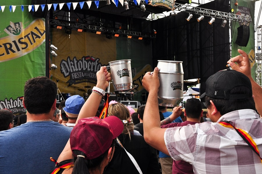 Oktoberfest: La fiesta de la cerveza más grande de Chile