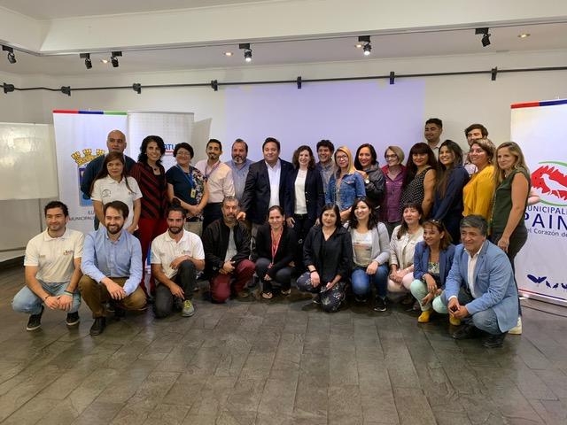 Más de 18 municipios de la Región Metropolitana de Santiago participaron en la Primera Jornada de Planificación de Turismo Municipal