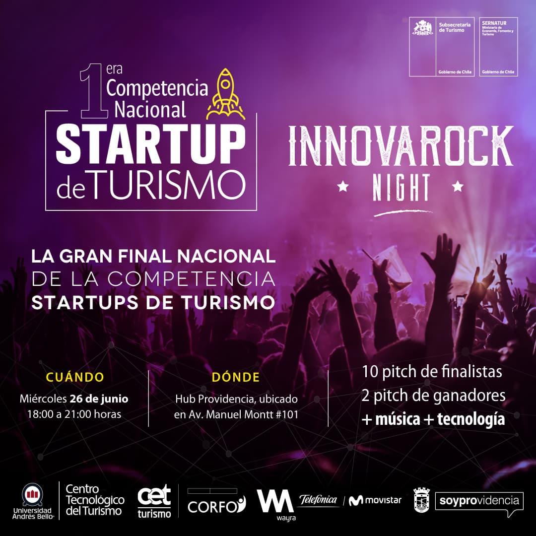 Diez startups de turismo competirán a nivel nacional para representar a Chile en  Competencia Americana
