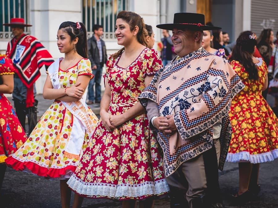 Vive las Fiestas Patrias en Santiago