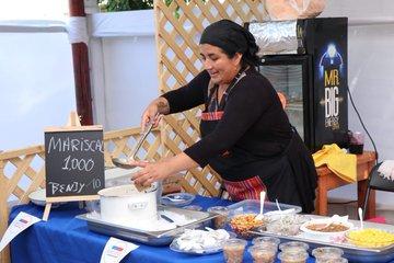 Show gastronómico «Saborea on Tour» deleitó en Barrio Franklin