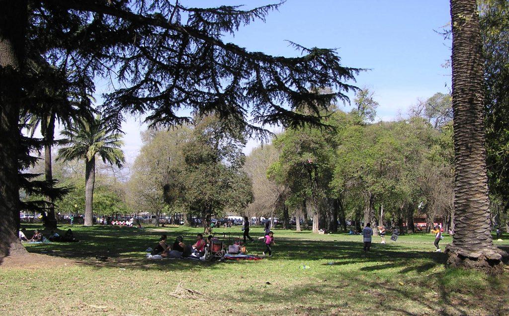 Santiago Parque o'higgins