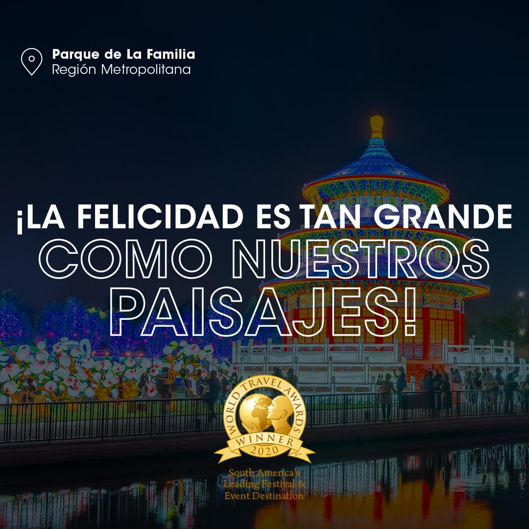 Santiago gana por primera vez premio a Mejor Destino de Festivales y Eventos y Chile reafirma su liderazgo en Sudamérica