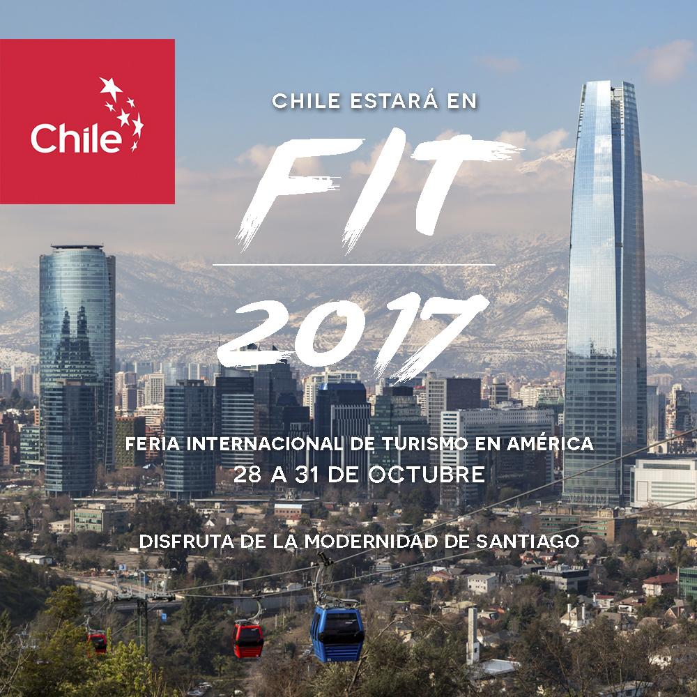 Chile se promociona en feria de turismo de Argentina