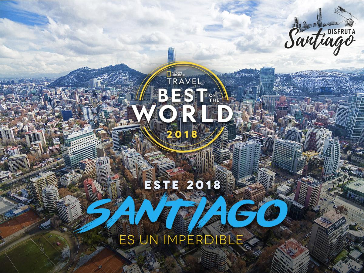 National Geographic Traveler destaca Santiago como destino imperdible 2018