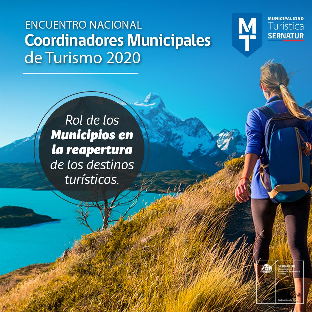 Sernatur invita a municipios a participar del Encuentro Nacional de Coordinadores Municipales de Turismo