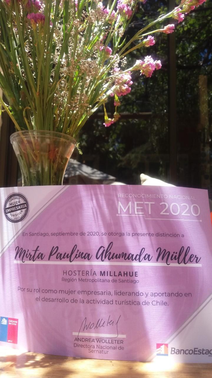 Mirta Ahumada Müller y Hostería Millahue: tradición familiar y fuerza de mujer